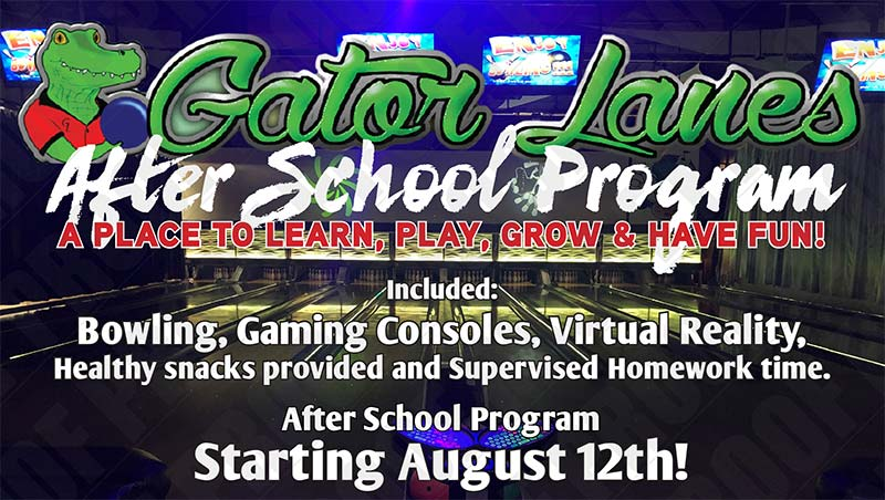 Gator Lanes' Fort Myers after school program